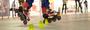 Прочное покрытие для занятий на роликовых коньках  полы для Скетинг-ринга