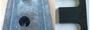 Прижимная планка П-1 исп. 2 (фрез.)  ГОСТ 24741-81(ГОСТ 24741-2016)