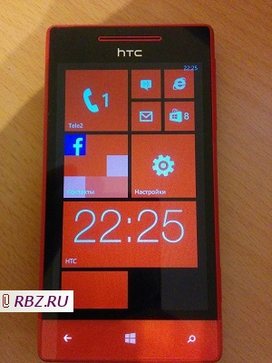 Продам HTC Windows Phone 8S